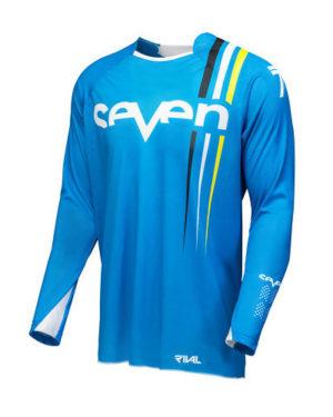 Seven Rival Flow Jersey – Cyan Navy
