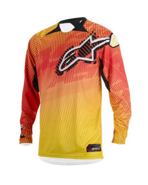 Alpinestars Charger 2014 – Adults, Red Yellow