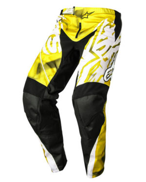 Alpinestars Racer Pants 2014 – Adults, Yellow Black