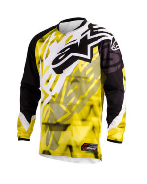 Alpinestars Racer 2014 – Adults, Black Yellow