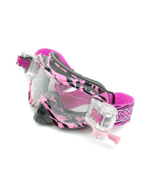 RNR Hybrid Fully Loaded Goggles – Pink