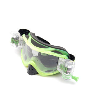 RNR Hybrid Fully Loaded Goggles – Green