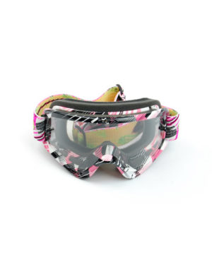 Oakley O Frame MX Tear Off – Pink/White