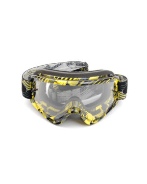 Oakley O Frame MX Tear Off – Black/Yellow
