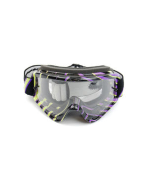 Oakley O Frame MX Tear Off – Green/Purple