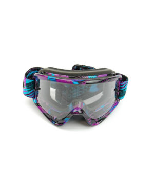 Oakley O Frame MX Tear Off – Purple/Blue