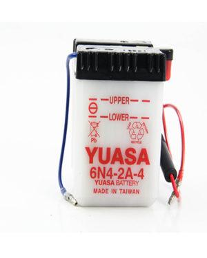 6N4-2A-4 Yuasa Battery (6 Volt)