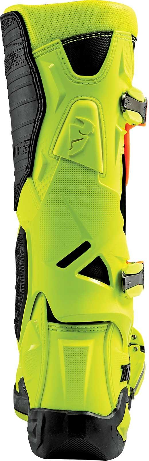 Thor Radial Back View Flo Orange-Yellow