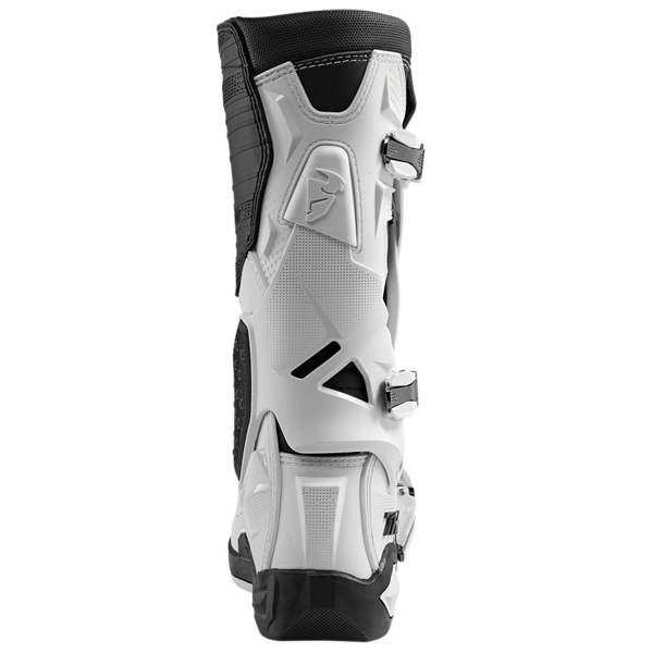 Thor Radial Boot White Back View