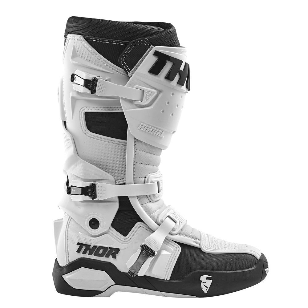 Thor Radial Boot White Side View